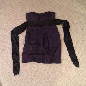 Strapless dress size 9